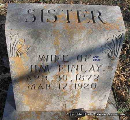 FINLAY, SISTER - Scott County, Arkansas | SISTER FINLAY - Arkansas Gravestone Photos