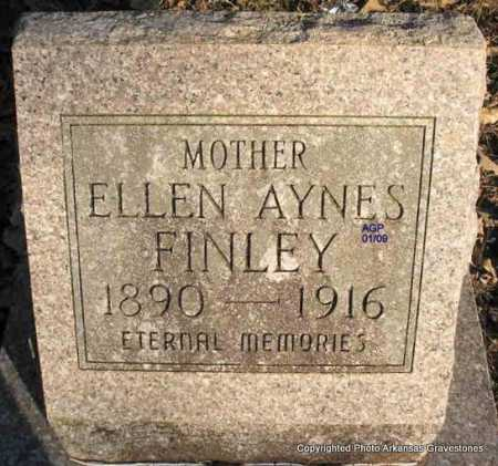 AYNES FINLEY, ELLEN - Scott County, Arkansas | ELLEN AYNES FINLEY - Arkansas Gravestone Photos