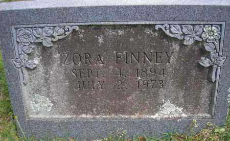 FINNEY, ZORA - Scott County, Arkansas | ZORA FINNEY - Arkansas Gravestone Photos