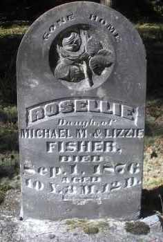 FISHER, ROSELLIE - Scott County, Arkansas | ROSELLIE FISHER - Arkansas Gravestone Photos