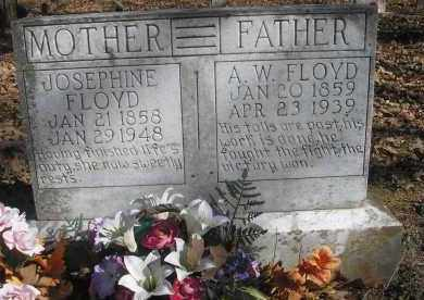 FLOYD, JOSEPHINE - Scott County, Arkansas | JOSEPHINE FLOYD - Arkansas Gravestone Photos