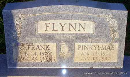 FLYNN, C  FRANK - Scott County, Arkansas | C  FRANK FLYNN - Arkansas Gravestone Photos