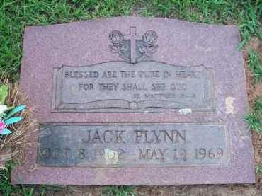 FLYNN (2ND STONE), JACK - Scott County, Arkansas | JACK FLYNN (2ND STONE) - Arkansas Gravestone Photos