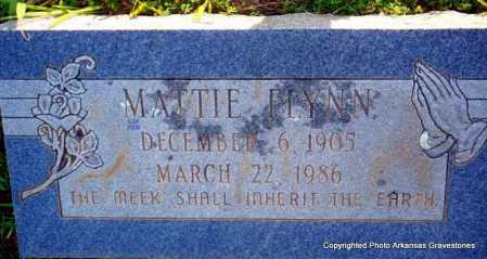 FLYNN, MATTIE - Scott County, Arkansas | MATTIE FLYNN - Arkansas Gravestone Photos