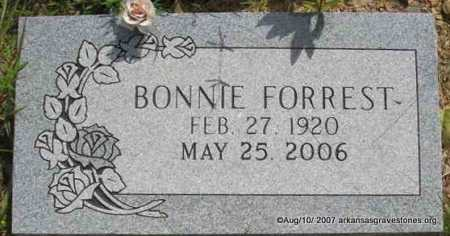 FORREST, BONNIE - Scott County, Arkansas | BONNIE FORREST - Arkansas Gravestone Photos