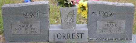 FORREST, FRANK - Scott County, Arkansas | FRANK FORREST - Arkansas Gravestone Photos