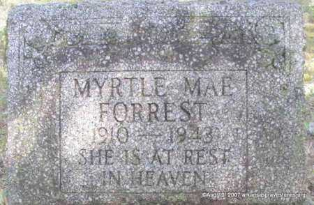 FORREST, MYRTLE MAE - Scott County, Arkansas | MYRTLE MAE FORREST - Arkansas Gravestone Photos