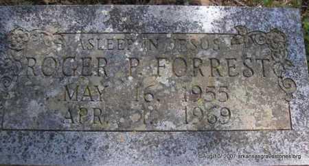 FORREST, ROGER P - Scott County, Arkansas | ROGER P FORREST - Arkansas Gravestone Photos