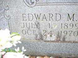 FOX, EDWARD M  (CLOSEUP) - Scott County, Arkansas | EDWARD M  (CLOSEUP) FOX - Arkansas Gravestone Photos