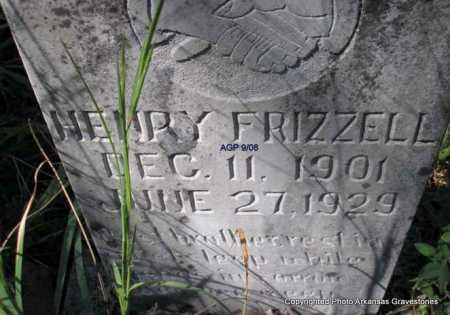 FRIZZELL, HENRY - Scott County, Arkansas | HENRY FRIZZELL - Arkansas Gravestone Photos