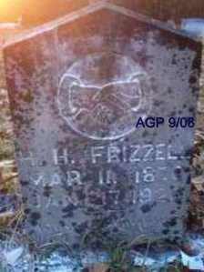 FRIZZELL, H  H - Scott County, Arkansas | H  H FRIZZELL - Arkansas Gravestone Photos