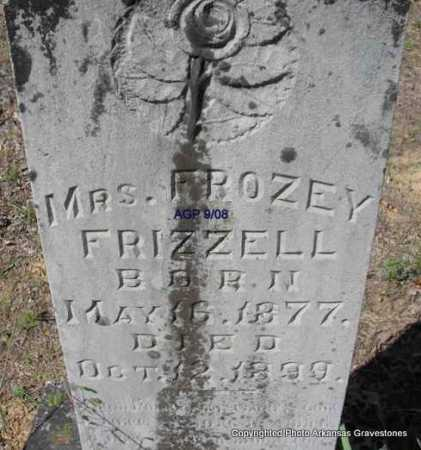 FRIZZELL, FROZEY, MRS - Scott County, Arkansas | FROZEY, MRS FRIZZELL - Arkansas Gravestone Photos