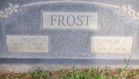 FROST, GEORGIA J - Scott County, Arkansas | GEORGIA J FROST - Arkansas Gravestone Photos