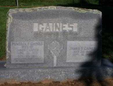 GAINES, JAMES F  (2ND STONE) - Scott County, Arkansas | JAMES F  (2ND STONE) GAINES - Arkansas Gravestone Photos