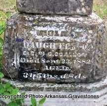 SCALLON, VIOLA V - Scott County, Arkansas | VIOLA V SCALLON - Arkansas Gravestone Photos