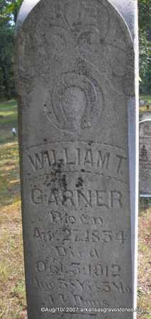 GARNER, WILLIAM T - Scott County, Arkansas | WILLIAM T GARNER - Arkansas Gravestone Photos