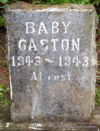 GASTON, BABY - Scott County, Arkansas | BABY GASTON - Arkansas Gravestone Photos