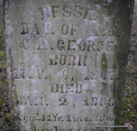 GEORGE, DESSIE - Scott County, Arkansas | DESSIE GEORGE - Arkansas Gravestone Photos