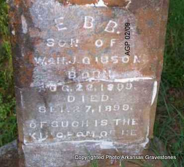 GIBSON, EBB - Scott County, Arkansas | EBB GIBSON - Arkansas Gravestone Photos