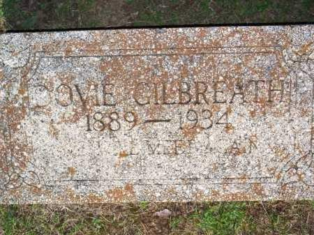 GILBREATH, DOVIE - Scott County, Arkansas | DOVIE GILBREATH - Arkansas Gravestone Photos
