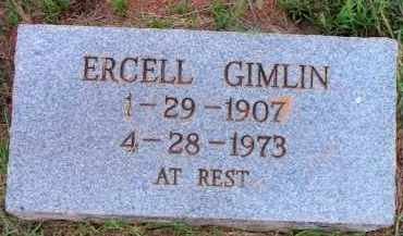 GIMLIN, ERCELL - Scott County, Arkansas | ERCELL GIMLIN - Arkansas Gravestone Photos