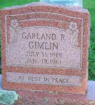 GIMLIN, GARLAND R - Scott County, Arkansas | GARLAND R GIMLIN - Arkansas Gravestone Photos
