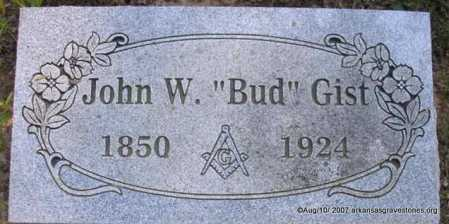 "GIST, JOHN W "" BUD"" - Scott County, Arkansas 