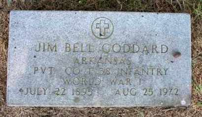 GODDARD  (VETERAN WWI), JIM BELL - Scott County, Arkansas | JIM BELL GODDARD  (VETERAN WWI) - Arkansas Gravestone Photos