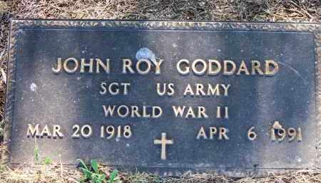 GODDARD  (VETERAN WWII), JOHN ROY - Scott County, Arkansas | JOHN ROY GODDARD  (VETERAN WWII) - Arkansas Gravestone Photos