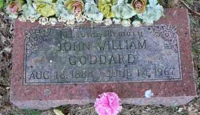 GODDARD, JOHN WILLIAM - Scott County, Arkansas | JOHN WILLIAM GODDARD - Arkansas Gravestone Photos
