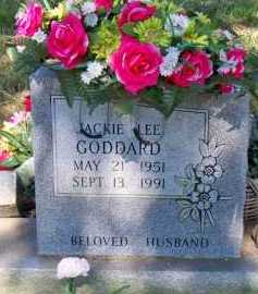 GODDARD, JACKIE LEE - Scott County, Arkansas | JACKIE LEE GODDARD - Arkansas Gravestone Photos