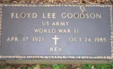 GOODSON  (VETERAN WWII), FLOYD LEE - Scott County, Arkansas | FLOYD LEE GOODSON  (VETERAN WWII) - Arkansas Gravestone Photos