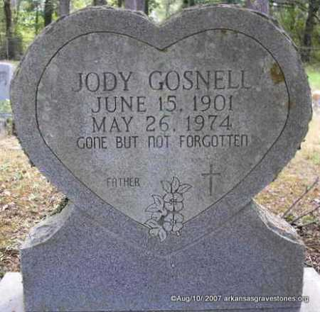 GOSNELL, JODY - Scott County, Arkansas | JODY GOSNELL - Arkansas Gravestone Photos
