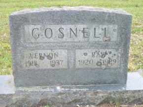 GOSNELL, VERNON - Scott County, Arkansas | VERNON GOSNELL - Arkansas Gravestone Photos