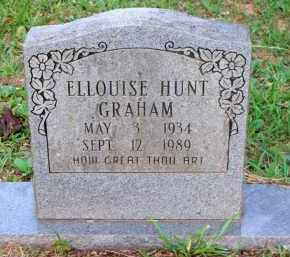 HUNT GRAHAM, ELLOUISE - Scott County, Arkansas | ELLOUISE HUNT GRAHAM - Arkansas Gravestone Photos
