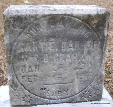 GRAHAM, GARTIE - Scott County, Arkansas | GARTIE GRAHAM - Arkansas Gravestone Photos