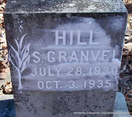 HILL, S GRANVEL - Scott County, Arkansas | S GRANVEL HILL - Arkansas Gravestone Photos