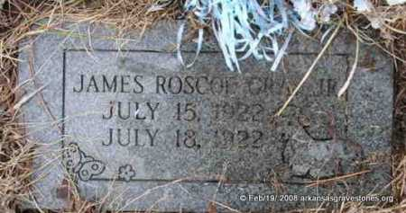 GRAY, JAMES ROSCOE, JR - Scott County, Arkansas | JAMES ROSCOE, JR GRAY - Arkansas Gravestone Photos