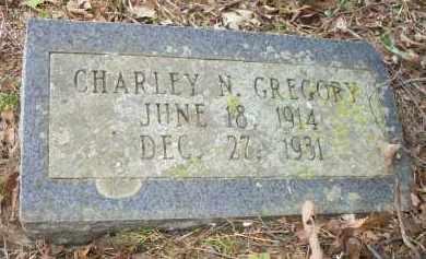 GREGORY, CHARLEY N - Scott County, Arkansas | CHARLEY N GREGORY - Arkansas Gravestone Photos
