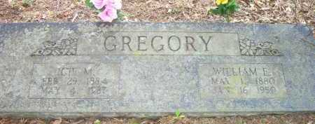 GREGORY, WILLIAM ERNEST - Scott County, Arkansas | WILLIAM ERNEST GREGORY - Arkansas Gravestone Photos