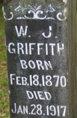 GRIFFITH, W  J - Scott County, Arkansas | W  J GRIFFITH - Arkansas Gravestone Photos