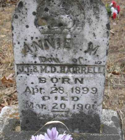 HAIRRELL, ANNIE M - Scott County, Arkansas | ANNIE M HAIRRELL - Arkansas Gravestone Photos