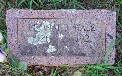 HALE, LEONARD - Scott County, Arkansas   LEONARD HALE - Arkansas Gravestone Photos