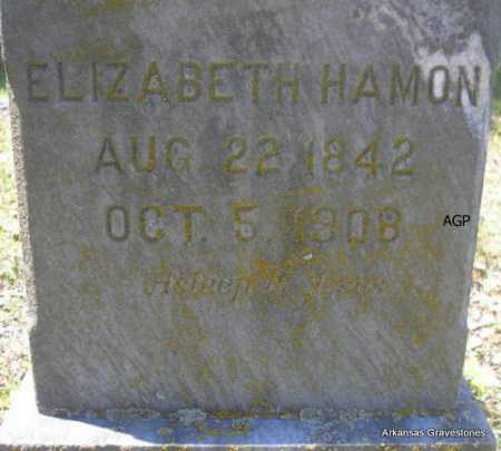HAMON, ELIZABETH - Scott County, Arkansas | ELIZABETH HAMON - Arkansas Gravestone Photos