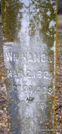 HAMON, WM - Scott County, Arkansas | WM HAMON - Arkansas Gravestone Photos