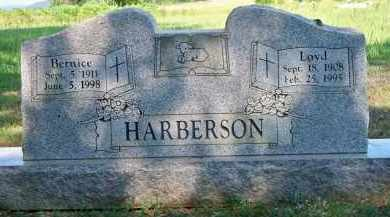 HARBERSON, LOYD - Scott County, Arkansas | LOYD HARBERSON - Arkansas Gravestone Photos