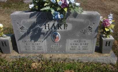"""HARP, EDGAR JAMES """"E J """" - Scott County, Arkansas   EDGAR JAMES """"E J """" HARP - Arkansas Gravestone Photos"""