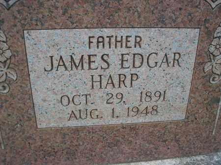 HARP, JAMES EDGAR - Scott County, Arkansas | JAMES EDGAR HARP - Arkansas Gravestone Photos