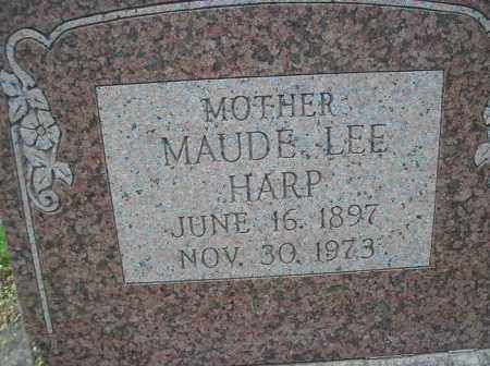 HARP, MAUDE LEE - Scott County, Arkansas | MAUDE LEE HARP - Arkansas Gravestone Photos
