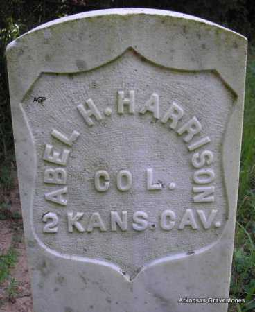 HARRISON  (VETERAN UNION), ABEL H - Scott County, Arkansas | ABEL H HARRISON  (VETERAN UNION) - Arkansas Gravestone Photos